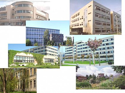 Impressions of the campus of the Faculty I of Natural Science